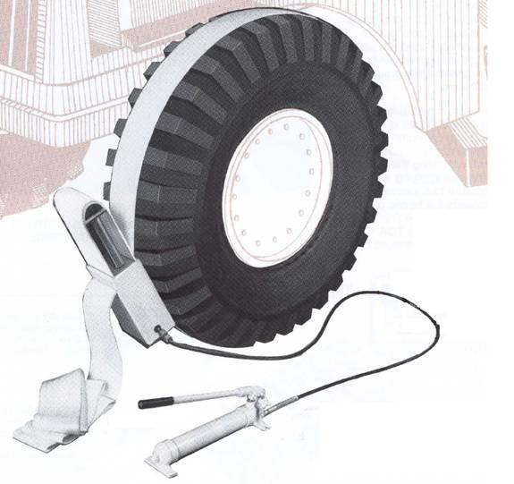 TC-90 Hydraulic Tire Constrictor